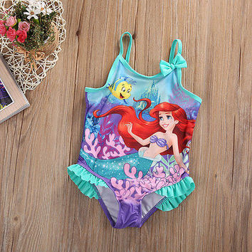Toddler Kids Baby Girls Clothes Summer Children