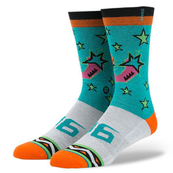 Stance - 96 All Star - Turquoise