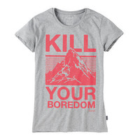 howies  - womens - t-shirts - boredom