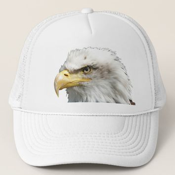 US USA American Eagle Trucker Hat