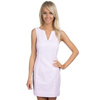 The Avery Seersucker Dress in Pink by Lauren James - FINAL SALE