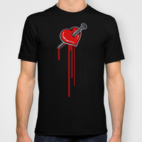 KISS ME, STUPID T-shirt by SEVENTRAPS