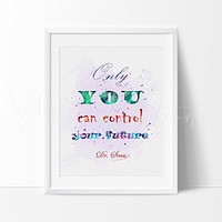 Dr. Seuss Quote 3 Watercolor Art Print