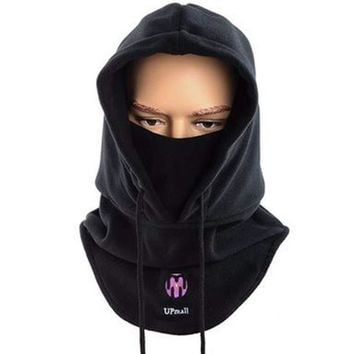 Warm Winter Tactical Balaclava Ski Face Mask Windproof Fleece Hood Hat Sports Mask Windproof Neck Thermal Men And Woman Hat