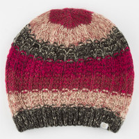 Element Taken Stripe Beanie Purple Combo One Size For Women 24203576601