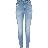 Light wash Lana superskinny jeans