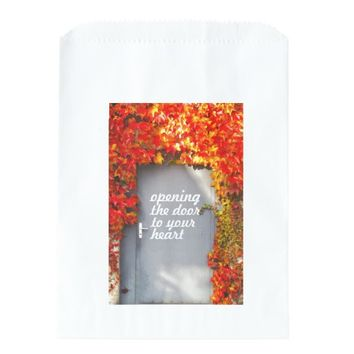 Opening the Door to Your Heart Favor Bags