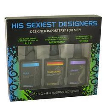 Designer Imposters Rule Gift Set By Parfums De Coeur