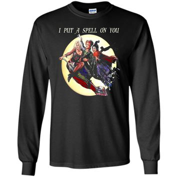 Hocus & Pocus I Put A Spell On You Halloween T-Shirt