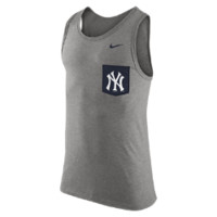 Nike Tri-Blend (MLB Yankees) Men's Tank Top Size Large (Black)