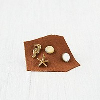 Free People  Novelty Sea Studs at Free People Clothing Boutique