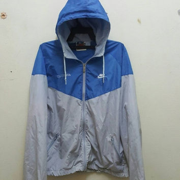 9567fd739f Sale 20% OFF Nike Swoosh Vintage Late 80s Rare Windbreaker Zip O. Active  Wear ...