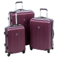 You should see this Cambridge 3 Piece Luggage Set in Plum on Daily Sales!