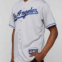 Majestic LA Dodgers Baseball Jersey Tee - Urban Outfitters
