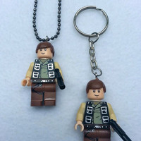 BOGO Promo Buy 1 Get 1! Buy 1 Lego Necklace Hans Solo Starwars, Starwars Collection, Get 1 Keychain FREE Superhero Party Favors Geek