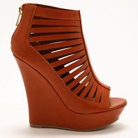 Chestnut Cut Out Wedges