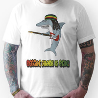 Reggae shark is real!! Unisex T-Shirt