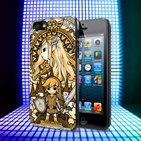 The Legend of Zelda The Wind Waker Glass iPhone 4, 4S, 5, 5C, 5S Samsung Galaxy S2, S3, S4 Case