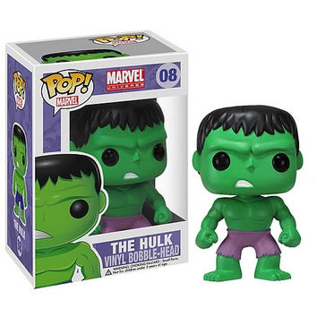 Hulk Pop Heroes Bobble-Head Vinyl Figure