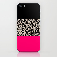 Leopard National Flag IV iPhone & iPod Skin by M Studio