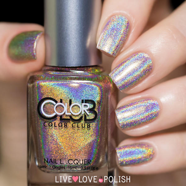 Color Club Cherubic Nail Polish (Halo From Live Love Polish