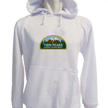 twin peaks Hoodie Sweatshirt Sweater white variant color for Unisex size