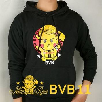 Marco Reus  Borussia Dortmund tide , the German team with a cap jacket, Bumblebee, Bundesliga BVB, fans