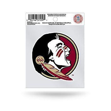 Florida State Seminoles Logo Static Cling Auto Decal Car Sticker Small SS