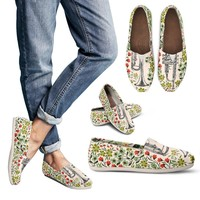Floral Trumpet Sketch Casual Shoes