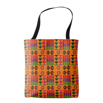 African All-Over-Print Tote Bag,