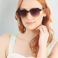 Urban Amour Than a Feeling Sunglasses by ModCloth