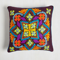 Boho Sunporch Sweetness Pillow by Karma Living from ModCloth