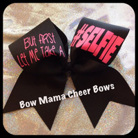 SELFIE Cheer Bow