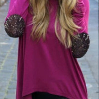 Long-Sleeve Asymmetrical Shirt