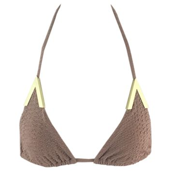 Beach Riot Oasis Top in Nude