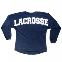 Girls Lacrosse Varsity Long Sleeve - Navy | Lacrosse Unlimited