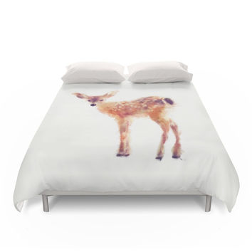 Society6 Fawn Duvet Cover