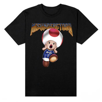 Magic Mushroom Doom Black Tee - Restocked