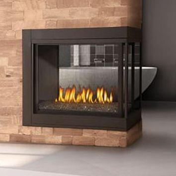 "Napoleon Ascent BHD4 Direct Vent 45"" Multi-View Electronic Ignition Fireplace"