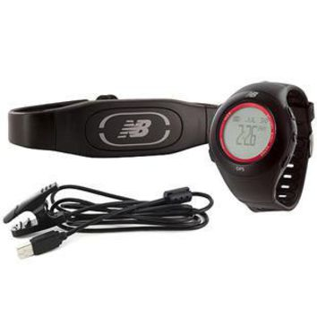 new balance n9 gps trainer heart rate monitor usb charging cable alarm