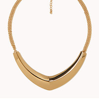 Boomerang Bib Necklace