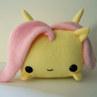 Rectangle Animals Fluttershy pony plush MADE TO ORDER