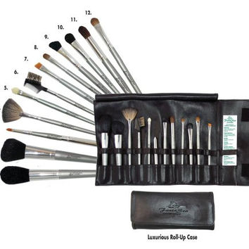 FantaSea 12 piece Cosmetic Brush Set