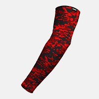 Digital Camo Red Beast Arm Sleeve