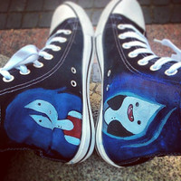 Personalized handpainted shoes, Adventure Time shoes, custom snekers