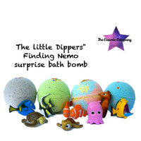 "Little Dippers"" Finding Nemo surprise bath bomb"