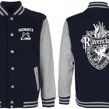 Ravenclaw Varsity Jacket - Harry Potter Inspired Sweater - Ravenclaw Sweatshirt