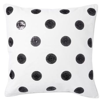 The Emily + Meritt Sequin Dot Euro Pillow
