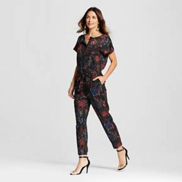 Women's Floral Printed Jumpsuit - ISANI for Target
