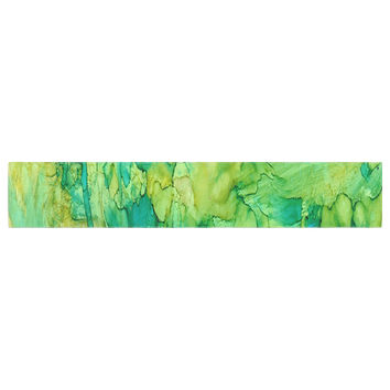 "Rosie Brown ""Going Green"" Emerald Table Runner"